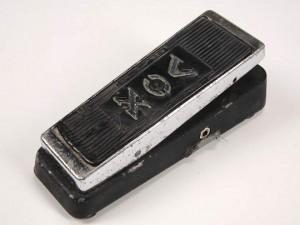 Modelo do Wah Vox usado por Jimi Hendrix