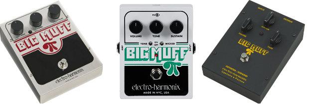 As três principais versões desse clássico Fuzz - Big Muff