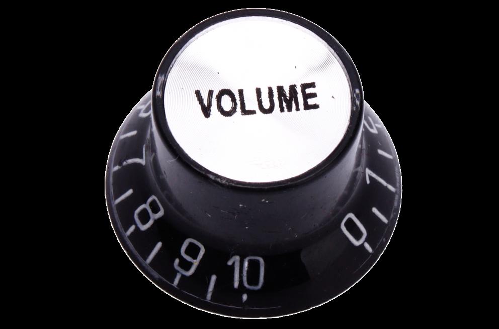 Como usar o controle de volume da sua guitarra