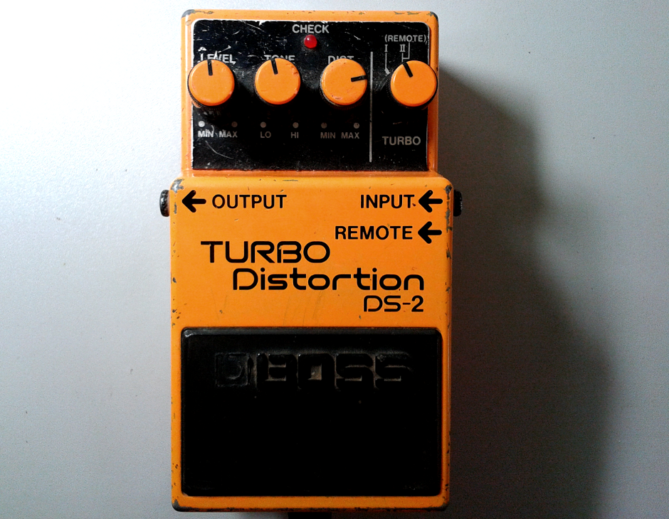 BOSS DS2 Turbo