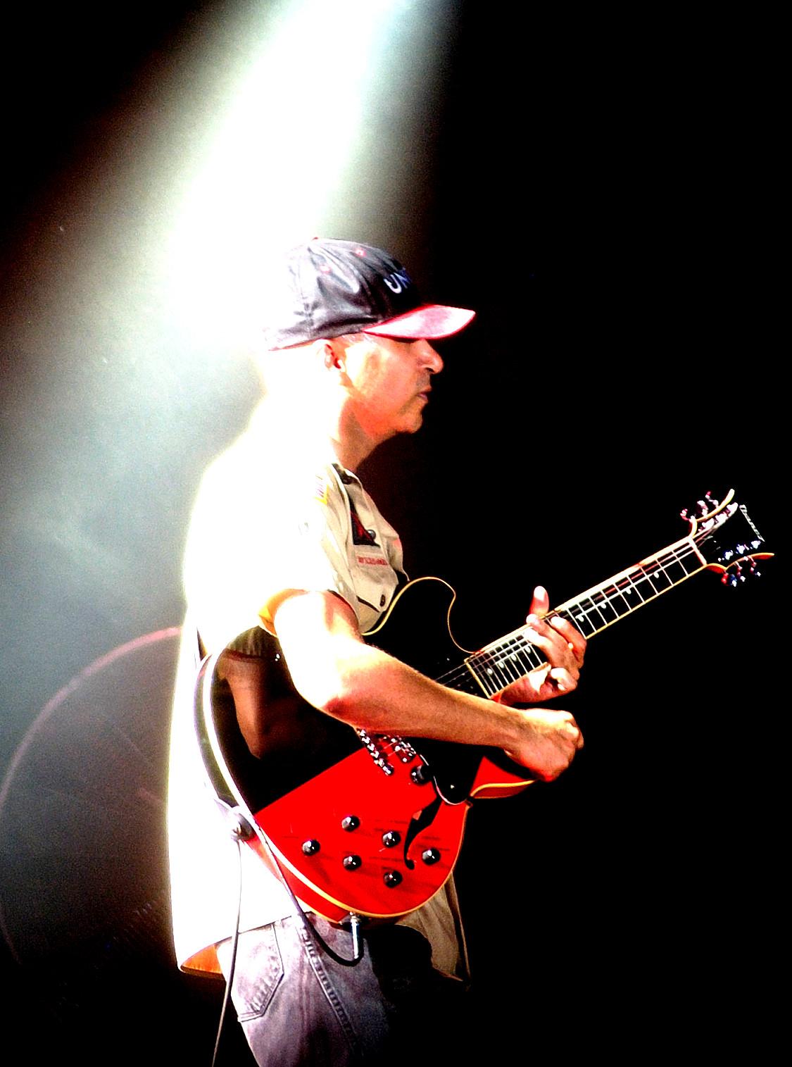 Tom Morello Black and Red