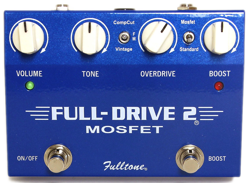 Fulltone Fulldrive 2 - Um realmente versátil overdrive