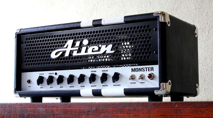 Amplificador Valvulado Monster da Alien