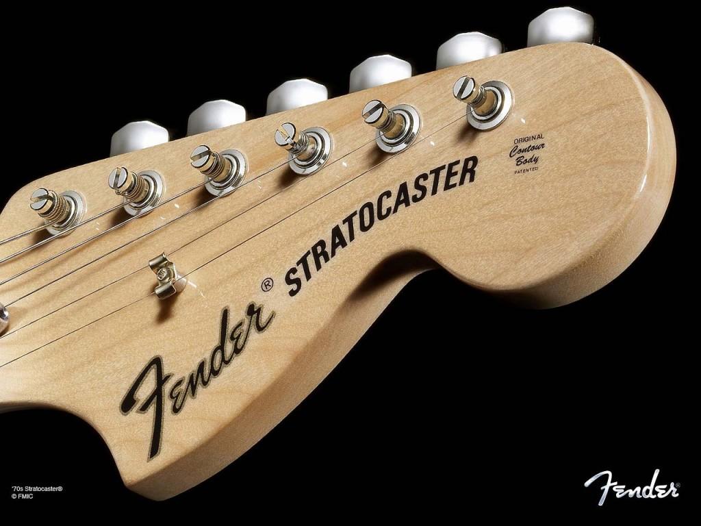 Headstock Fender Stratocaster original