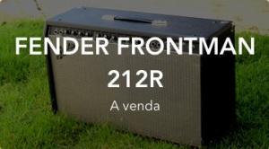 Fender Frontman 212r a venda - Máquinas de Música